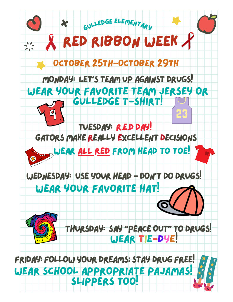 Red Ribbon Week 2021
