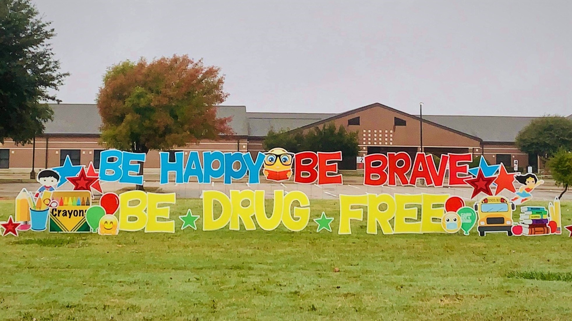 Red Ribbon Week 2020 Yard Sign