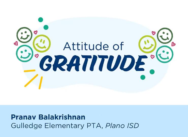Congratulations, Pranav!